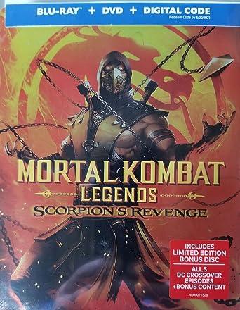 Amazon Com Mortal Kombat Legends Scorpion S Revenge Steelbook Dvd Blu Ray Digital Movies Tv