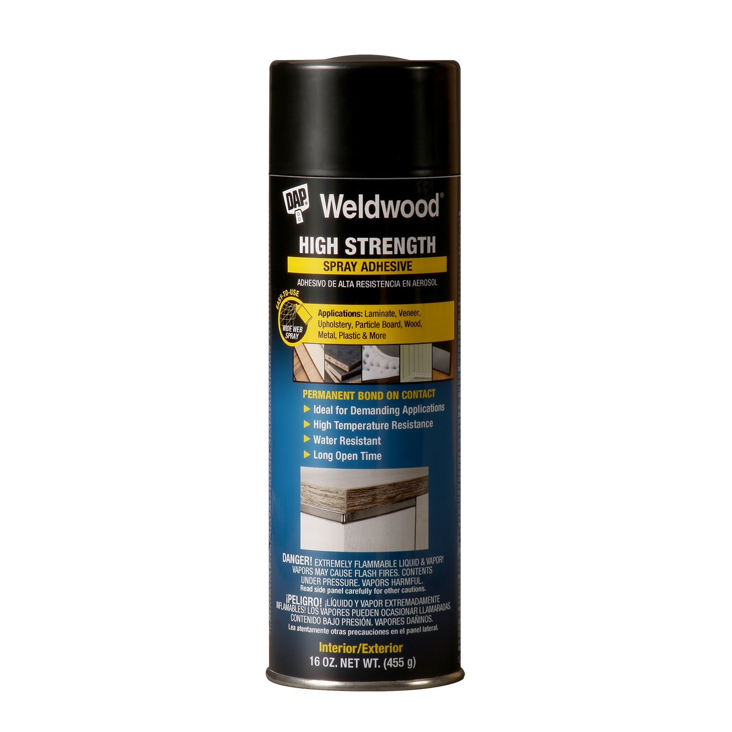 Dap 121 16-Ounce High Strength Spray Adhesive