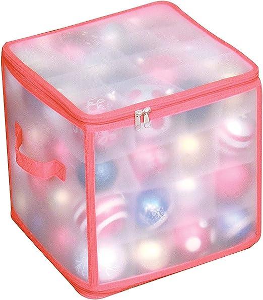 TJM - Caja para guardar bolas de Navidad: Amazon.es: Hogar