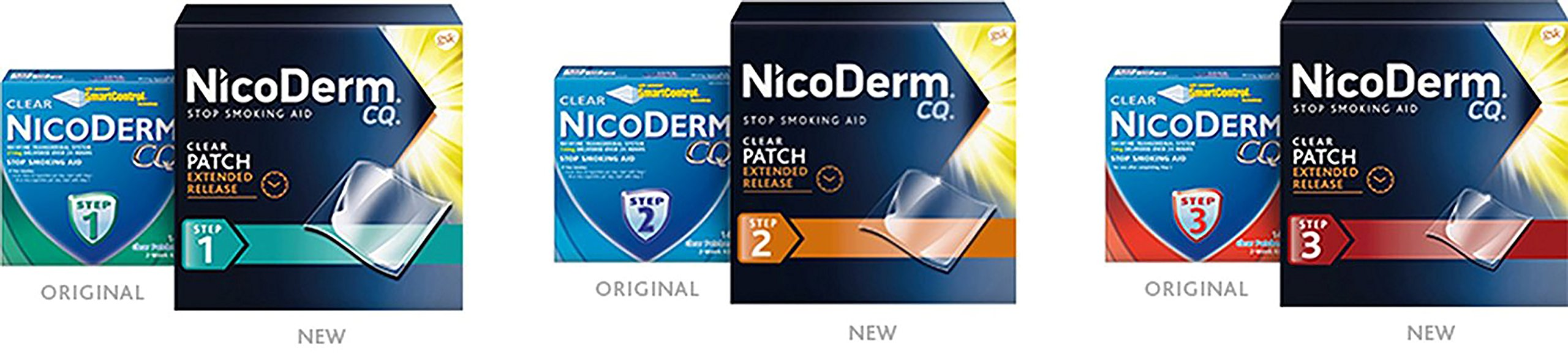 Nicoderm CQ Step 1, Step 2 & Step 3 (14 Clear Patches in each Step) For the Committed Quitters by Nicoderm (Image #2)