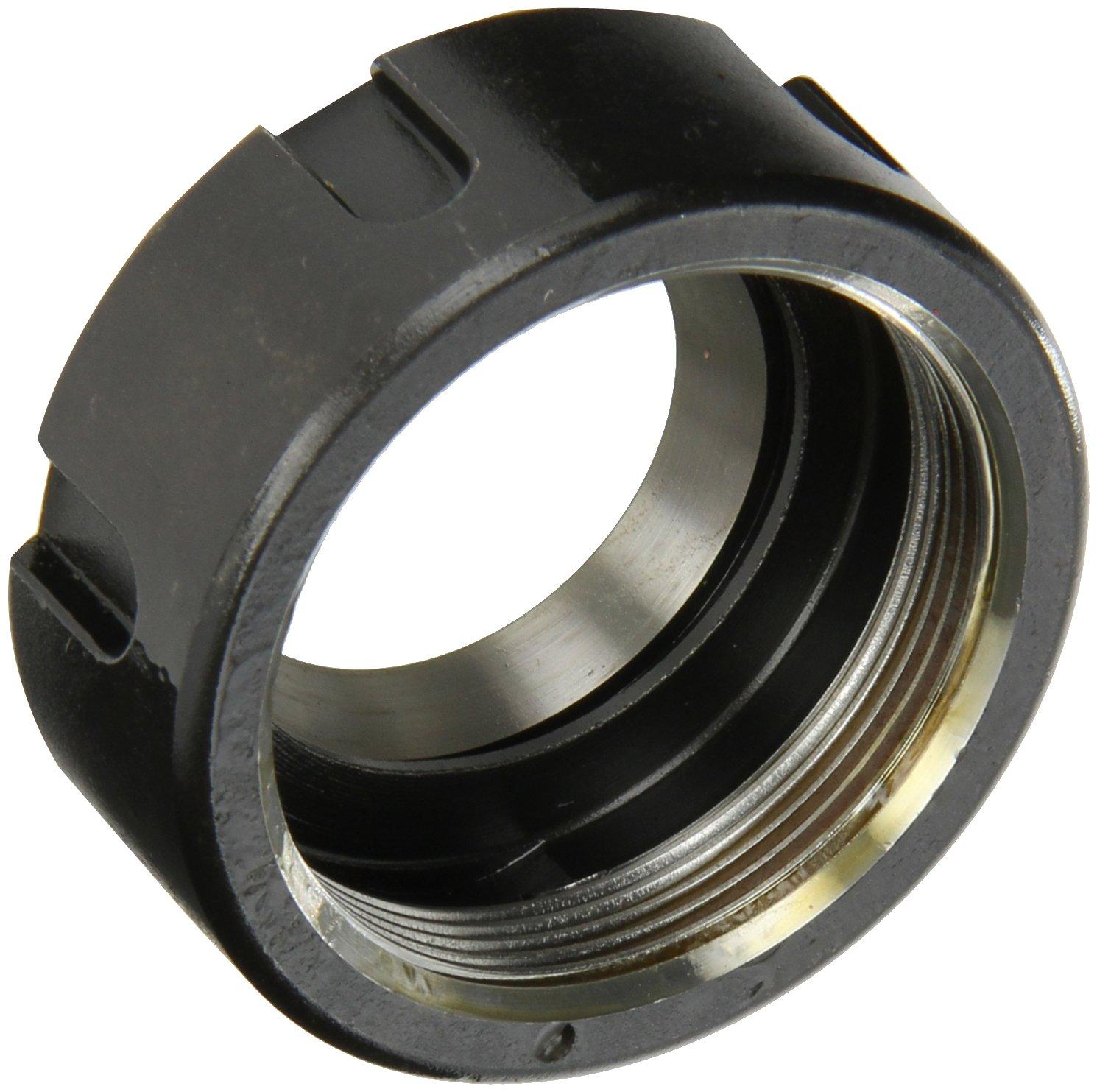 Dorian Tool ER32NTS50 Standard Nut for ER32 Ultra Precision Collets, M40 x 1.5 Thread, 50mm Diameter x 22.5mm Height