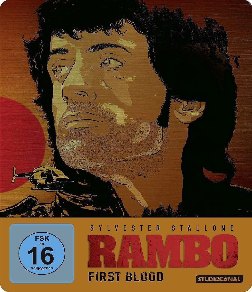 Rambo - First Blood: Limited Steelbook Edition: Amazon.es: Kozoll, Michael, Stallone, Sylvester, Sackheim, William, Stallone, Sylvester, Crenna, Richard, Dennehy, Brian, McKinney, Bill, Starrett, Jack, Talbott, Michael, Mulkey, Chris, McLiam, John ...