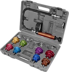Performance Tool W89733 Cooling System Pressure Tester Kit, black