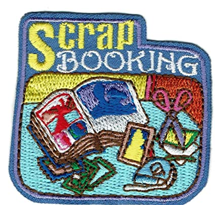Amazon com: Girl Scrapbooking Scrapbook Project Album Fun Patches