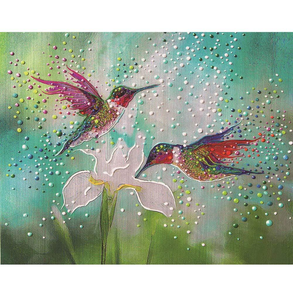 Sansee creative Colourful farfalla dipinti 5D ricamo a punto croce con strass incollato DIY Diamond Painting Wall Art Decor Christmas Gift Sansee Home