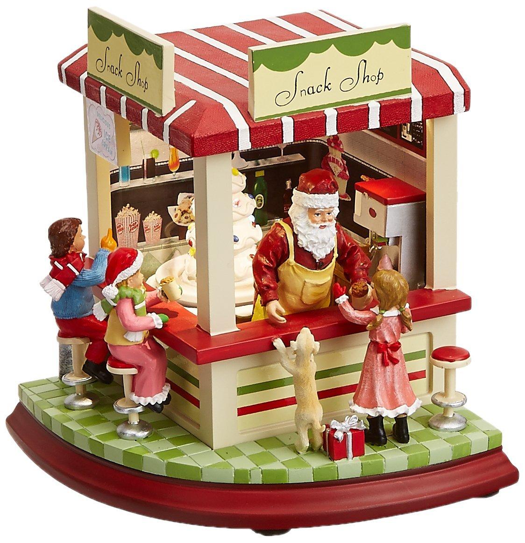 新しく着き Musicbox Kingdom Kingdom 8異なるMelodies 53003 Santa 's 's IlluminatedケーキスタンドPlays 8異なるMelodies B00G7J328U, アジア工房:5b1b9503 --- arcego.dominiotemporario.com