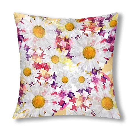 Kinhevao Acuarela Pata de Gallo Abstracta con Daisy Flowers ...