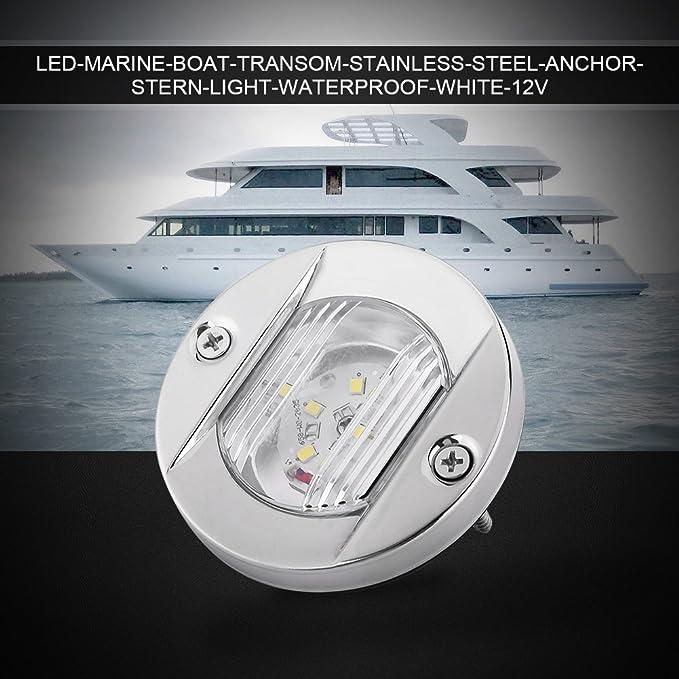 50W 27led Edelstahl Bootsbeleuchtung Unterwasser LED Beleuchtung Hecklicht Lampe