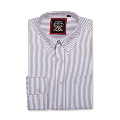Camisa Casual New Windsor Oxford Manga Larga con Botonadura ...
