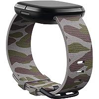 Fitbit Fitbit Correa Tejida Para Versa 3 & Sense L - Camuflaje, Color, 1 Count, Pack Of/Paquete De