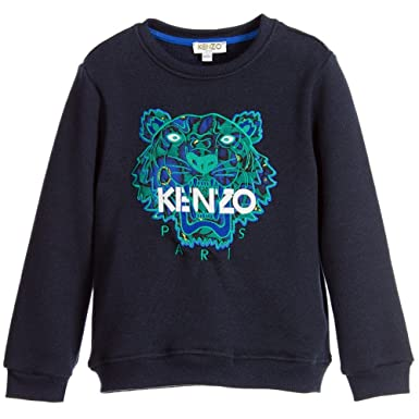 nuances de beau lustre plus bas rabais Sweat Kenzo Kids Tigre Noir - Ado: Amazon.fr: Vêtements et ...