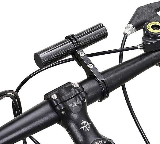 LaDicha Bikight MTB Bicicleta Manillar Portalámparas Soporte ...