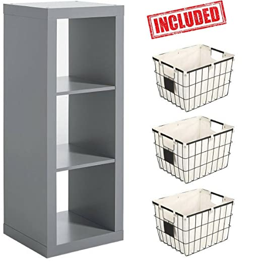 Amazoncom Better Homes and Gardens Furniture 3 Cube Room Organizer