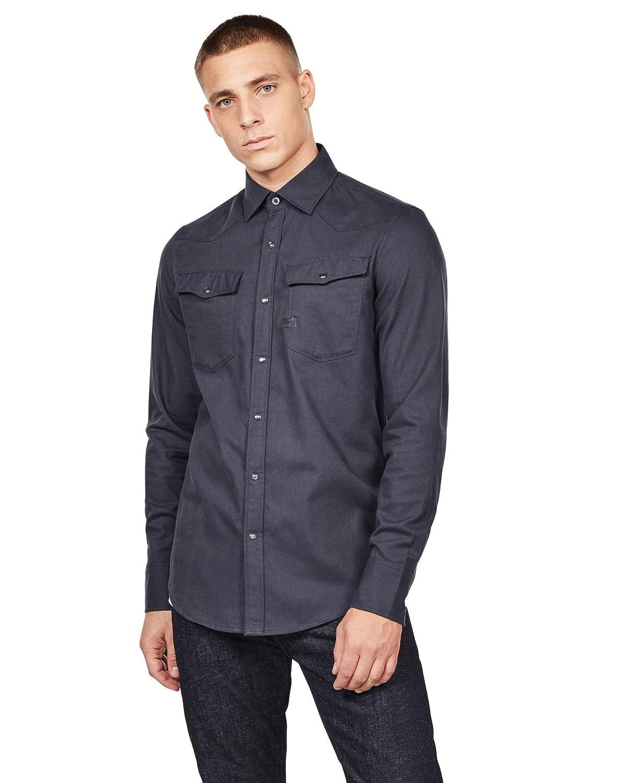 G-STAR RAW 3301 Slim Shirt Camicia Uomo