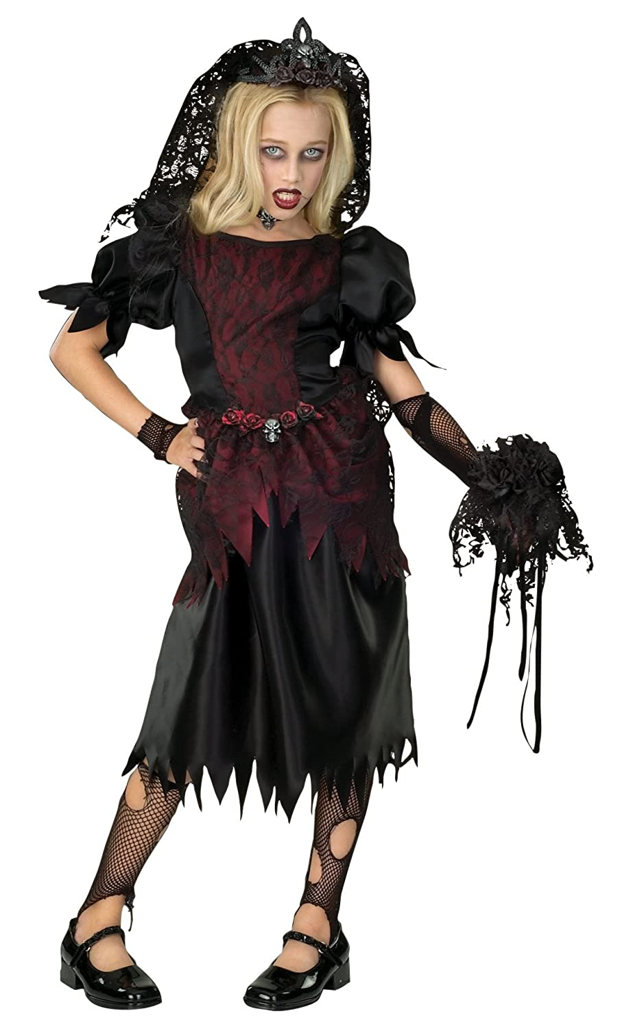 Rubies 2 882062 M - Zombie Prom Queen Große: M