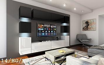 Future 14 Möbel Set Modernes Wohnzimmer, Waschtisch Wandtattoo TV, Set  Aufenthalt, Entertainment