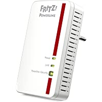 AVM Fritz Powerline 1000E Adapter (1.200 MBit/s, ideal für HD-Streaming oder NAS-Anbindungen)