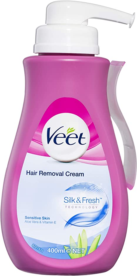 Veet Hair Removal Cream Pump Pack Of 1 Amazon Co Uk Health