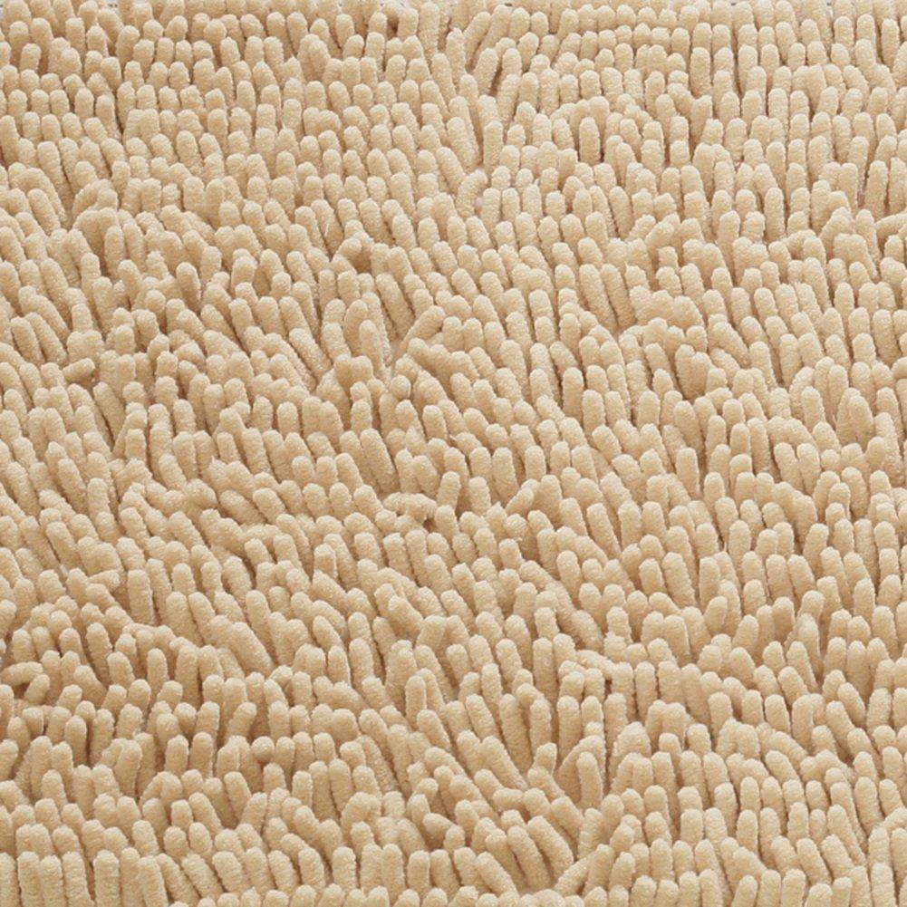 ZY Chenille plüsch Round mats Studie Schreibtisch drehbar Kissen Zimmer Wohnzimmer Non-Slip-C Durchmesser100cm(39inch)