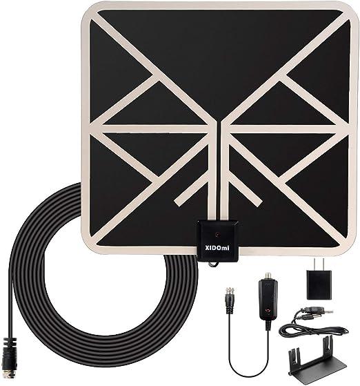 Amplified HD Digital TV Antenna Long 120+ Miles Range Support 4K 1080p