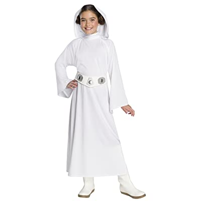 Rubie's Star Wars: Forces Of Destiny Child's Deluxe Princess Leia Costume, Large: Toys & Games