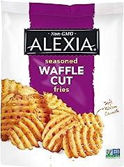 Alexia Seasoned Waffle Cut Fries, 20 oz (Frozen)