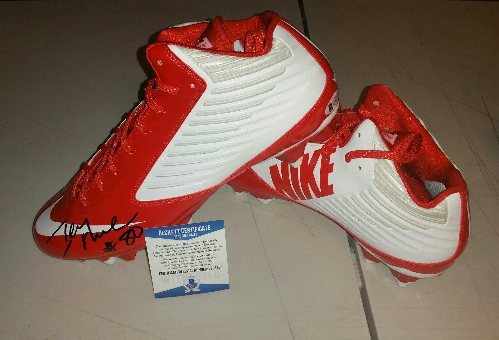 Jerry Rice 49Er Autographed Signed Nike Vapor Cleats Beckett Coa Left Shoe