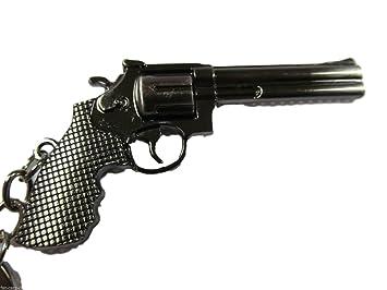 Llavero colgante de arma revolver pistola modelo a escala de ...