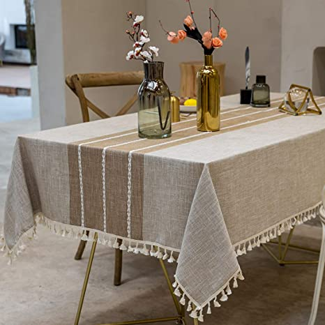 Kitchen Waterproof Dust proof Tablecloths Folding Washable Rectangle Tablecloth