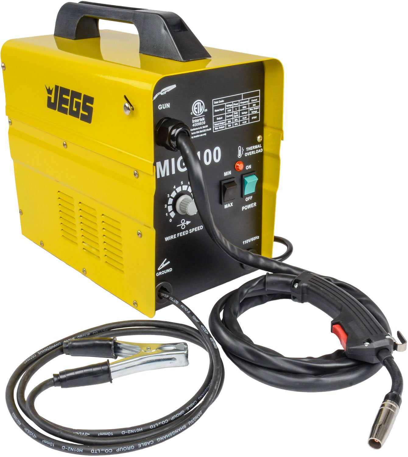 JEGS Performance Products 81540 MIG 100 Gasless Welder 110V AC by JEGS (Image #2)