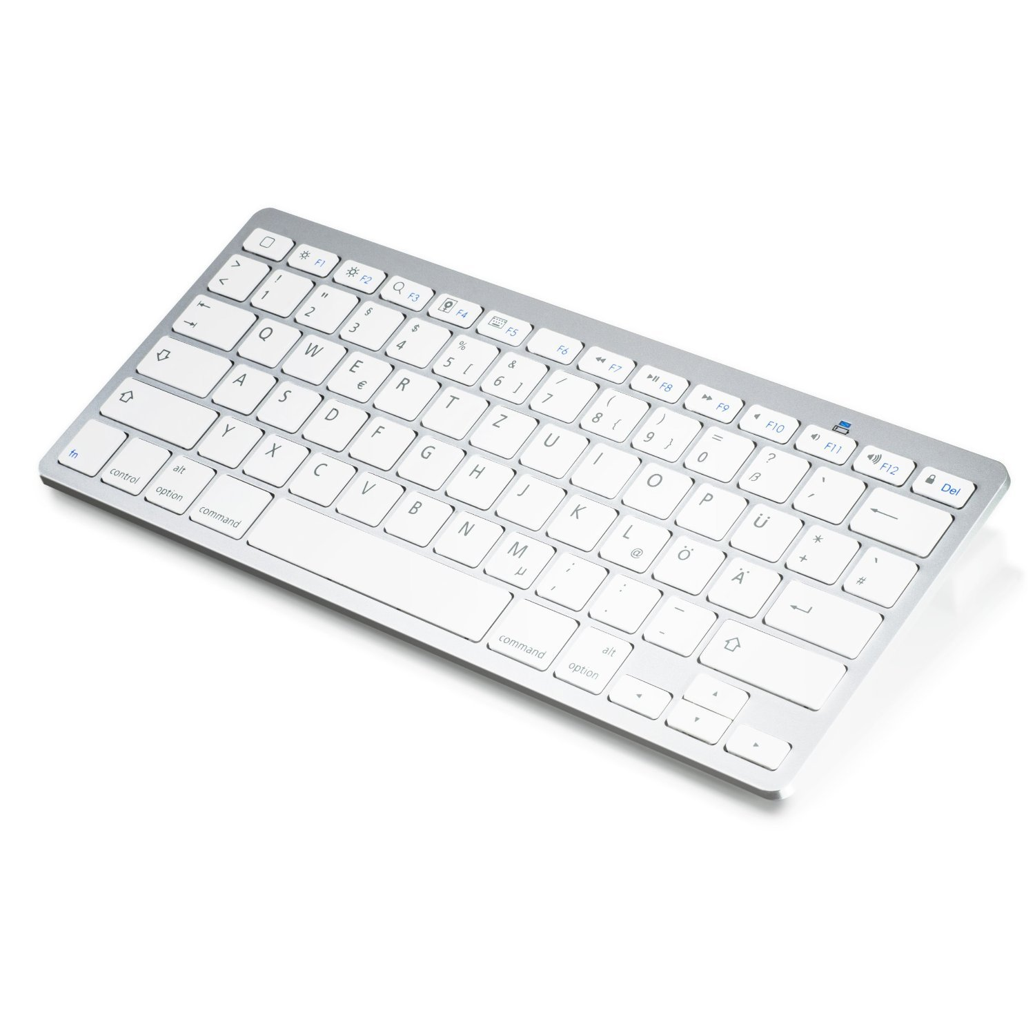Wireless Bluetooth Tastatur Keyboard im Slim Design Amazon puter & Zubehör