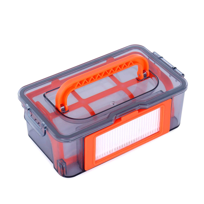 Coredy Replacement Robot Vacuum Dustbin Kit for R300 Robotic Vacuum Cleaner, 1pcs