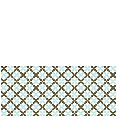 Marr/ón Laroom Alfombra Verde Vinylic Flooring PVC-Antislip