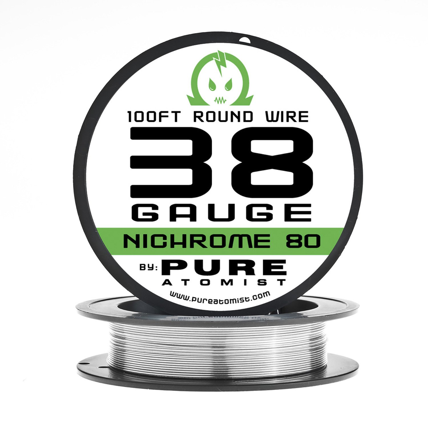 38g - Nichrome 80 38 gauge AWG 100ft. Roll resistance wire by Pure ...