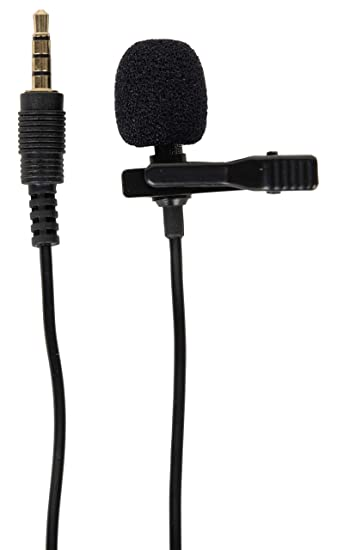 39d1d00b25e Generic 3.5mm Clip On Mini Lapel Lavalier Microphone (Black): Amazon.in:  Musical Instruments