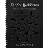 The New York Times Sunday Crossword Puzzles 2019 Weekly Planner Calendar
