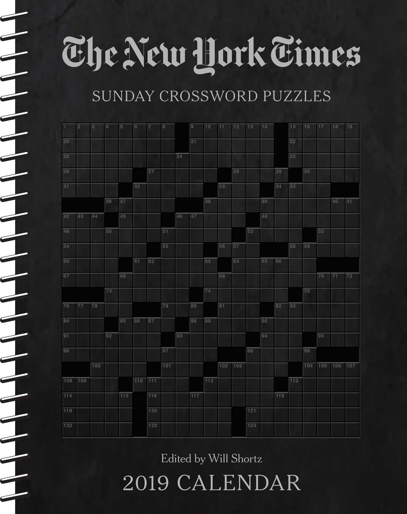 The New York Times Sunday Crossword Puzzles 2019 Weekly Planner Calendar Calendar – Engagement Calendar, September 4, 2018 Andrews McMeel Publishing 1449493912 Calendars NON-CLASSIFIABLE