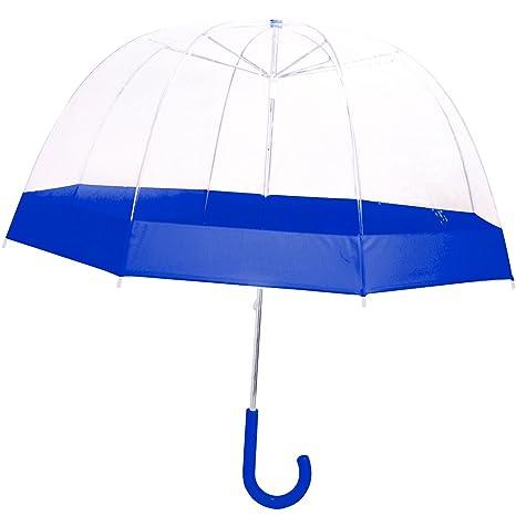 Le Monde du Parapluie Paragua clásico, transparente (Transparente) - CHL361E004B