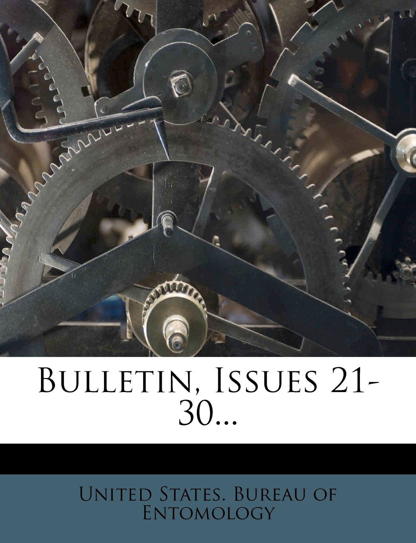 Bulletin, Issues 21-30... PDF