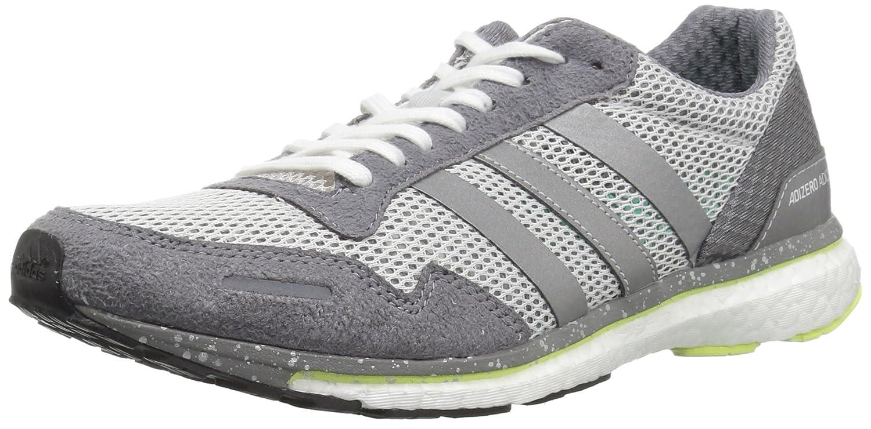 adidas Women's Adizero Adios W Running Shoe B0714CN41N 7 B(M) US Grey One/Metallic Silver/Grey Three