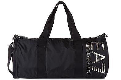 f1e1f3bdeafc Emporio Armani EA7 men s fitness gym sports shoulder bag train visibility  black