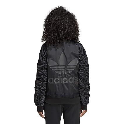 Amazon.com: adidas Originals - Chaqueta para mujer, de satén ...