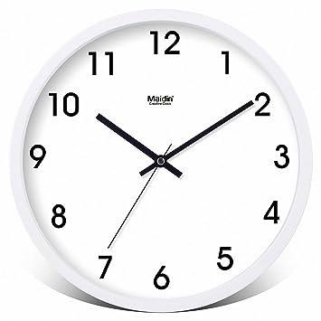 Runde Uhr moderne Wanduhr, ruhigen Wanduhren, Wanduhr Küche ...