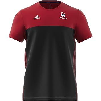 Adidas FFHB Performance – Camiseta de, Todo el año, Hombre, Color Black/