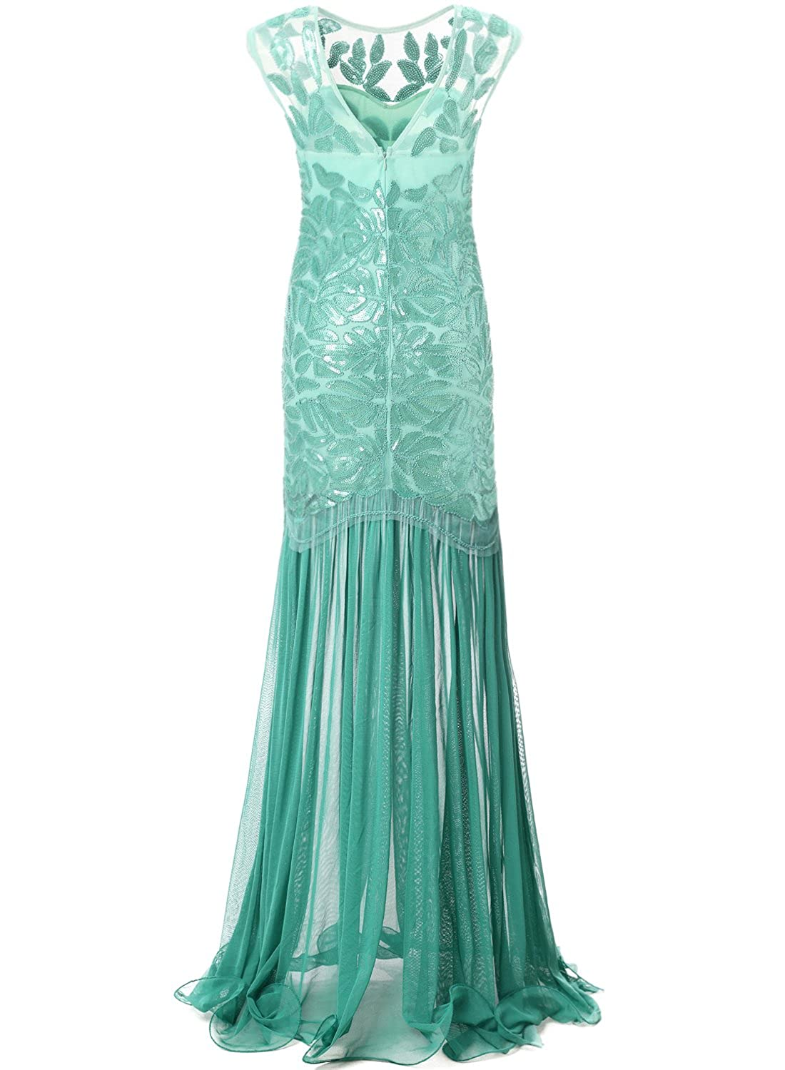 Bbonlinedress 1920s Beaded Sequins Gatsby Flapper Dresses Long ...