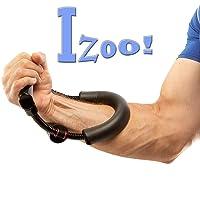 Izoo Adjustable Steel Forearm Strengthener Wrist Exerciser Gift Item