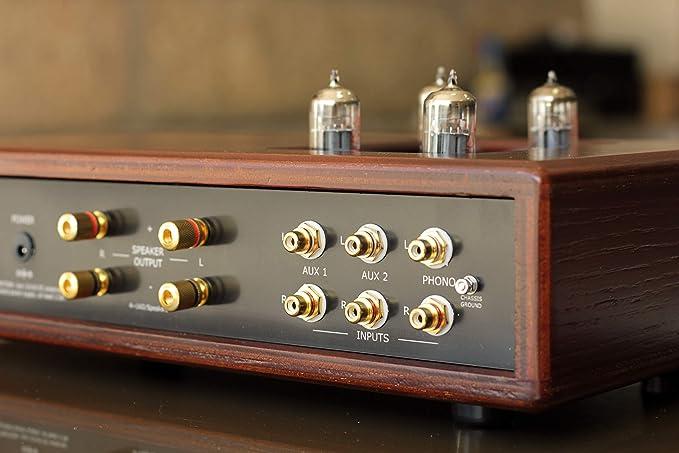 Amplificador HiFi a válvulas con previo Phono para ...