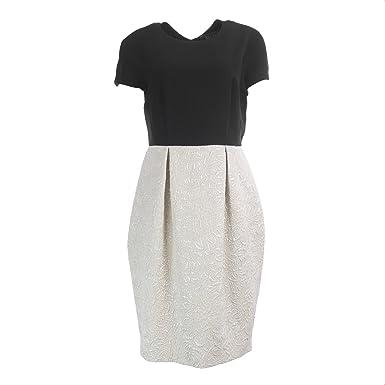 0071697ca88 MaxMara Pianoforte Women s Tabarin Sheath Dress Black at Amazon Women s  Clothing store