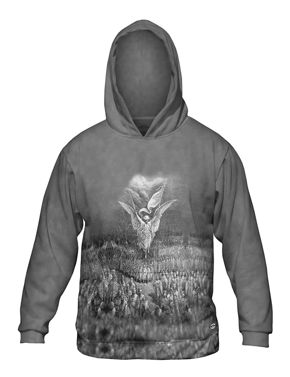 Yizzam- Gustave Dore Mens Hoodie 2786 Allover Print The Road to Jerusa