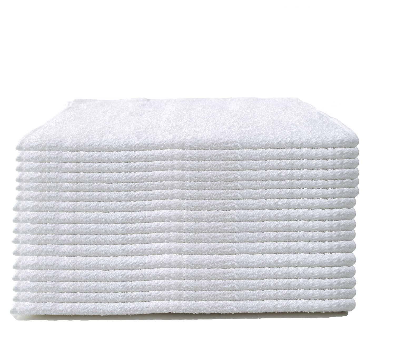 """Cleaning Solutions 79118 60 Pack Soft Plush Cotton Terry Towels 14"""" x 17"""" All Purpose Use, Ideal for Home, Auto and Commercial Cleaning"""